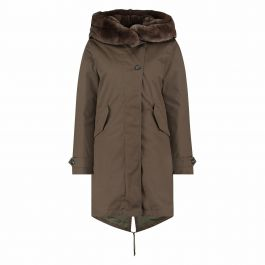 Woolrich literary rex parka military olive