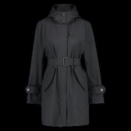 Woolrich belted fayette coat clas navy